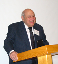 John Bavicchi accepts the 2003 Lifetime Achievement Award