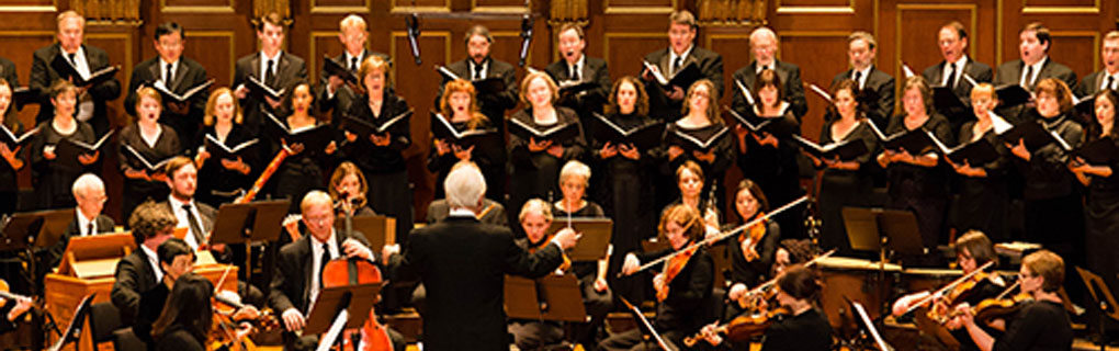 Cantata Singers at Jordan Hall of New England Conservatory, Boston
